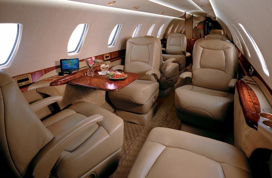 Салон Cessna Citation