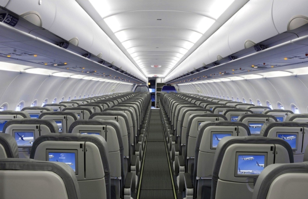 Салон Airbus A320