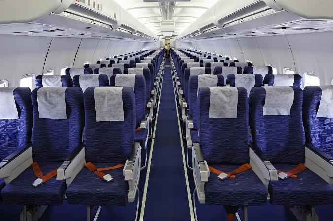 Салон Boeing 757-200