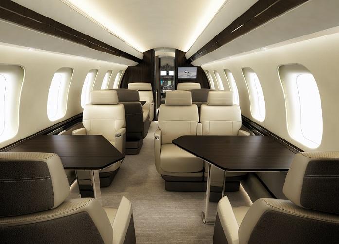 Салон Bombardier Global