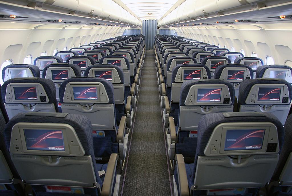 Салон Airbus A319