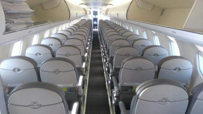 Салон Embraer 170