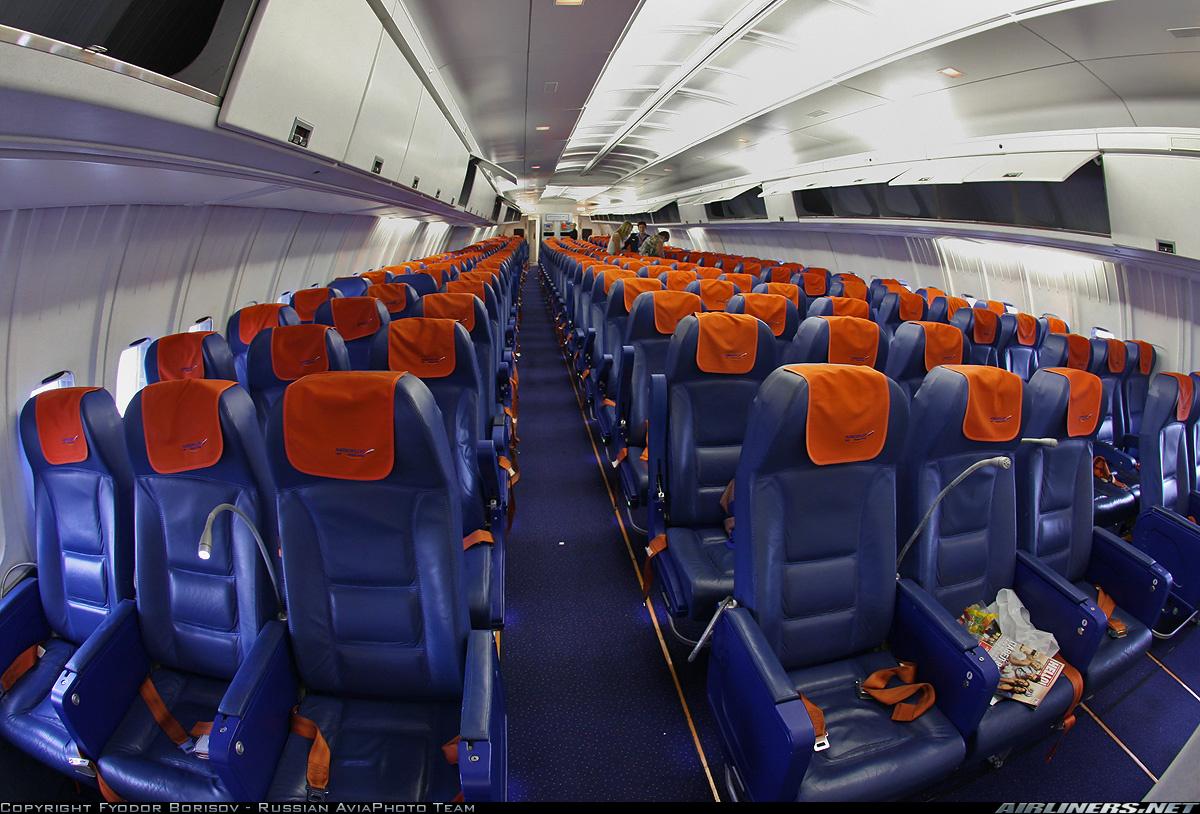 Салон Ил-96