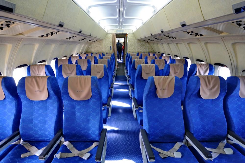 Салон Ил-62